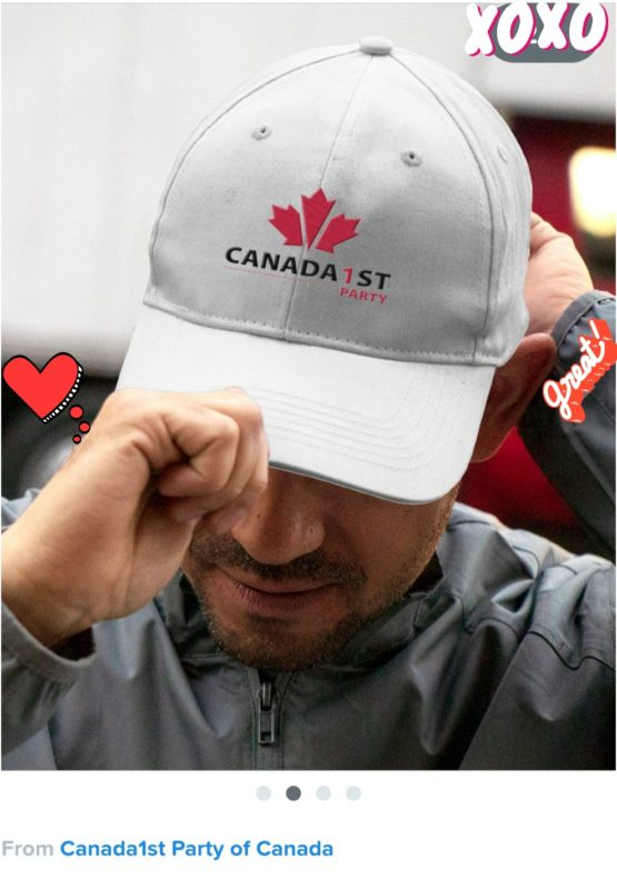 Canada 1st Party ball cap